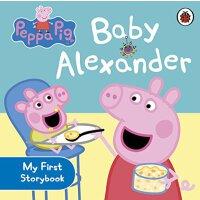 粉红猪小妹:小宝宝【现货】英文原版童书 Peppa Pig: Baby Alexander 小猪佩奇纸板故事书