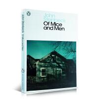 英文原版 Of Mice and Men 人鼠之间 诺贝尔奖 青少年课外阅读小说 约翰斯坦贝克 John Steinb