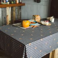 桌布布艺欧式家用小清新客厅餐厅长方形少女心台布