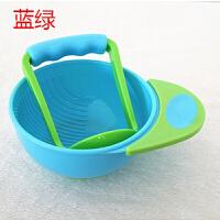 辅食研磨碗 宝宝辅食碗研磨器食物研磨碗碾磨碗婴儿辅食工具儿童手动水果泥机O