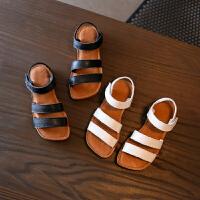 儿童凉鞋女童新款夏季露趾宝宝凉鞋男童沙滩鞋子