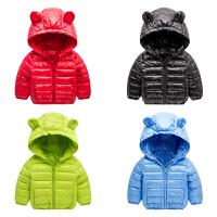 女宝宝外套冬季 婴儿棉衣0-3-6个月小童加厚衣服 新生儿冬装