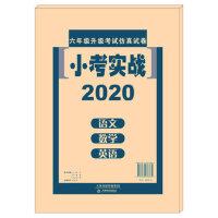 现货2020年小考实战语文数学英语三本试卷天津市小升初六升七仿真试卷天津教育出版社