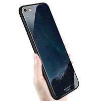 iPhone6手机壳6s苹果6plus玻璃硅胶套男款情侣全包女
