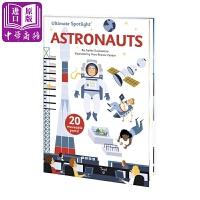 【中商原版】太空人 英文原版 Ultimate Spotlight Astronauts 精装翻翻书 儿童科普