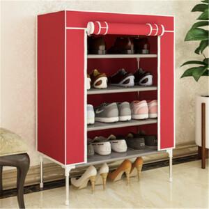 门扉 鞋架 现代实用简易时尚便捷坚固简约经济型防尘多层家用门厅收纳布鞋柜架子