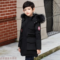 冬季儿童羽绒服男童中长款男孩童装男大童韩版冬装秋冬新款