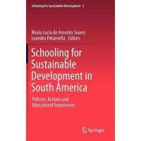 【预订】Schooling for Sustainable Development in South