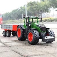 遥控农夫车玩具大号货车男孩电动翻斗车儿童大卡车拖拉机模型品质定制新品 E354农夫车自卸套装 官方标配