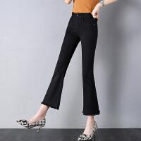 Lee Cooper小直修身显瘦百搭韩版学生新款高腰港味直筒女裤
