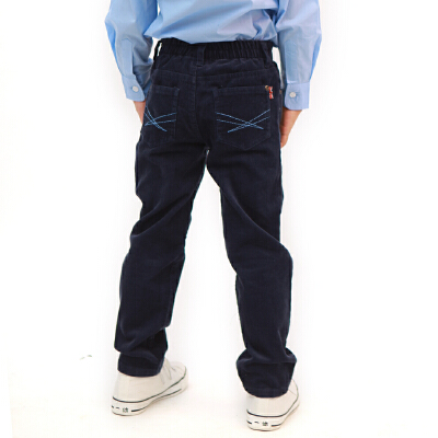 【两件1.3折价:17.4元】童装春秋新款男童长裤男儿童裤子男童灯芯绒儿童裤子英格里奥 领券下单更优惠