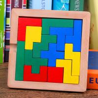 古典玩具伤脑筋十三块孔明锁玩具立体积木拼图