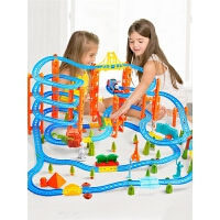 轨道小火车套装轨道车玩具赛车电动小汽车男孩儿童玩具3-4-5岁