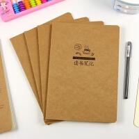 读书笔记专用本16k小学生阅读摘录本16开笔记本子b5初中生摘抄本