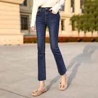 Lee Cooper 女新款时尚潮款气质个性牛仔裤唯美直筒修身显瘦牛仔裤女