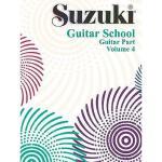 【预订】Suzuki Guitar School, Vol 4: Guitar Part