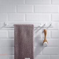 北欧太空铝毛巾架白色免打孔浴室置物架壁挂卫生间毛巾挂抹布挂钩