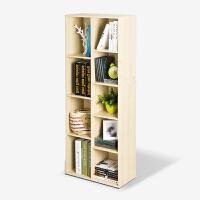 [当当自营]慧乐家 书柜书架 鲁比克创意九格储物柜 简易收纳置物架 白枫木色 11108-1