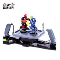 电动遥控对打拳击格斗竞技男孩玩具擂台对战机器人