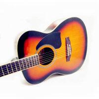 Jackson 吉他 38寸 民谣吉他 民谣吉他 吉他 初学 入门 亲民价位 (两色可选哦:原木色 太阳色)DG-12