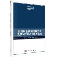【按需印刷】-实用灰色预测建模方法及其MATLAB程序实现