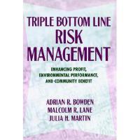 【预订】Triple Bottom Line Risk Management: Enhancing