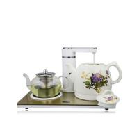 自动抽水电热水壶 陶瓷壶套装 电茶壶陶瓷热水壶套装