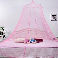 优质加密圆顶吊顶蚊帐-1.5-1.8米床宝宝防蚊帐 通用颜色随机