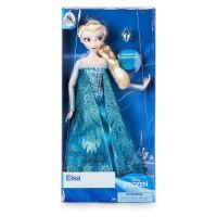 美国Disney冰雪奇缘玩具elsa爱莎艾莎安娜公主新年礼物儿童节礼物 30cm(8件套)