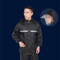 雨衣雨裤套装男女摩托车分体雨衣单人电动车雨衣套装