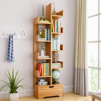 门扉 书柜 简易书架落地简约现代创意小书柜客厅树形置物架省空间