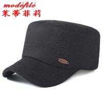 茉蒂菲莉 鸭舌帽 帽子 韩版时尚潮流休闲运动帽简约棉质中老年平顶帽