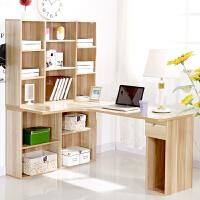 百意空间 家用桌子 简约转角桌 台式电脑桌 书桌书柜书架组合 现代台式桌 家用桌子 写字桌