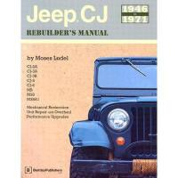 【预订】Jeep CJ Rebuilder's Manual: 1946-1971