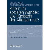 【预订】Altern Im Sozialen Wandel: Die Ruckkehr Der
