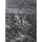 【预订】Dore's Knights and Medieval Adventure
