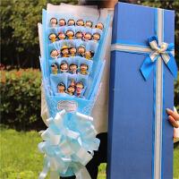 叮当猫蓝胖子KT猫公仔花束卡通花束送女友毕业生日礼物惊喜的节日礼品