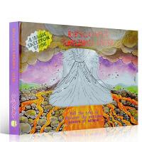 英文原版儿童绘本发现神奇的地球 Discover Amazing Earth 儿童英语早教益智科普魔法抽拉变色机关操作