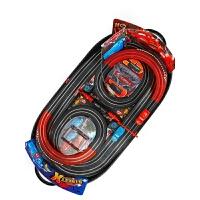 儿童玩具电动遥控小汽车总动员男孩双人赛道高速手摇汽车轨道赛车
