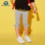 【5折价:29.5】迷你巴拉巴拉宝宝短裤儿童小童棉卫裤童装七分裤蝴蝶结女童裤子夏