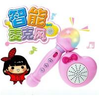儿童益智玩具男女孩2- 3-4-6周岁小孩唱歌话筒 宝宝麦克风带扩音