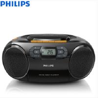 飞利浦(PHILIPS)AZ329/93 音响 CD播放机 收录机 学习机 磁带机 胎教机 USB播放 SD插卡便携