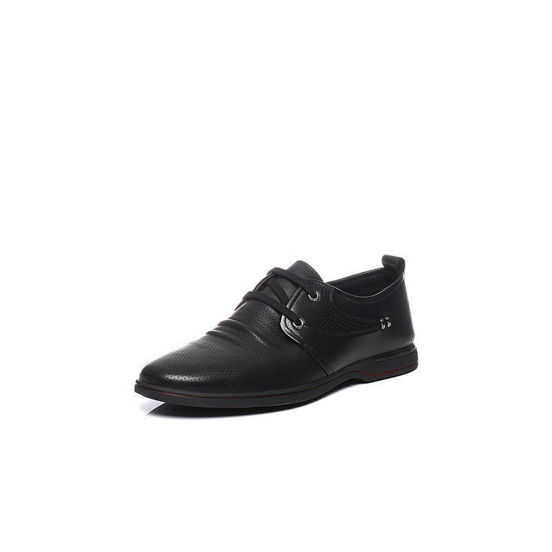 Teenmix/天美意夏季专柜同款牛皮男休闲鞋1WL0TBM6