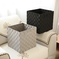 编织收纳箱收纳盒脏衣篓储物箱 可折叠大号编织汽车收纳箱