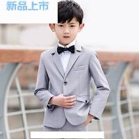 儿童西装男花童礼服男小西装韩版三件套男童西装礼服套装