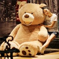 毛绒玩具熊美国泰迪熊大熊玩偶大号毛绒玩具抱抱熊布娃娃公仔生日礼物