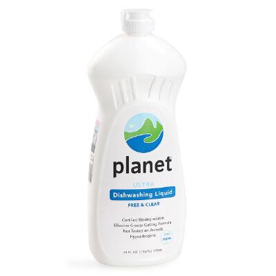 【包邮】美国planet餐具奶瓶洗洁精果蔬清洗液739ml多用途奶瓶果蔬清洗剂