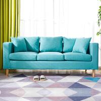 亿家达 欧式布艺沙发 小户型客厅沙发套装简易经济型双人沙发整装