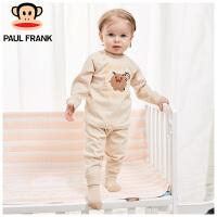 PWU1731016大嘴猴(Paul Frank)小怪物彩棉长袖圆领套装