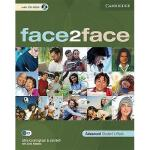 【预订】Face2face Advanced Student's Book [With CDROM]